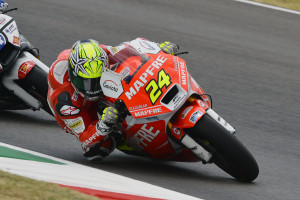 Toni Elías durante el Gran Premio de Italia