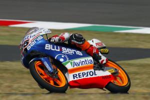 Maverick Viñales durante el Gran Premio de Italia