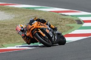 Johann Zarco durante el Gran Premio de Italia