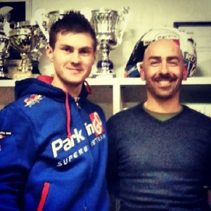 Chris Iddon y Giuliano Rovelli