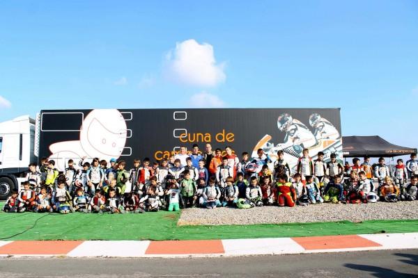 Foto de grupo pruebas selección Cuna 2014