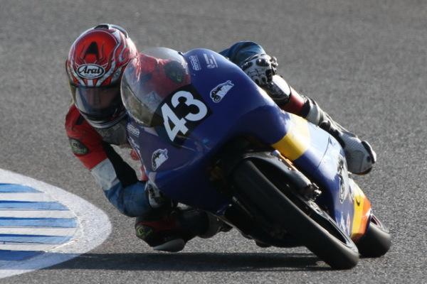 Jack Miller durante el CEV 2011 en Jerez