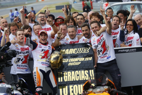 Marc Márquez, Campeón del Mundo de MotoGp 2014