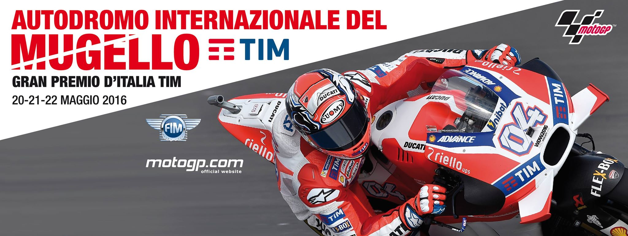 Cartel Promocional Gran Premio de Italia MotoGP
