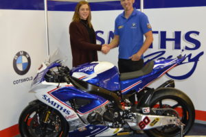 Peter Hickman y Rebecca Smith