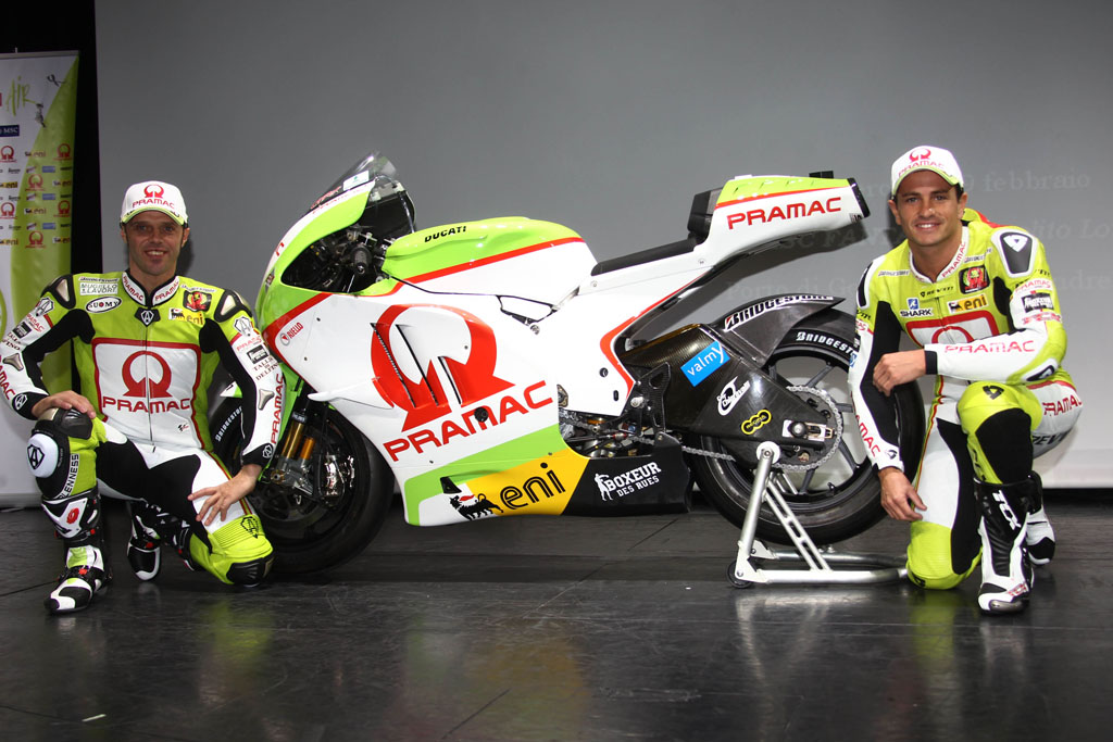 Loris Capirossi Randy de Puniet