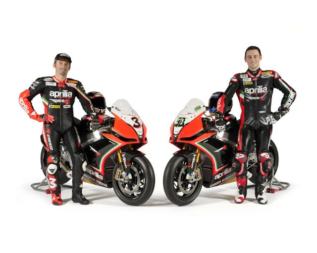 Max Biaggi y Eugene Laverty