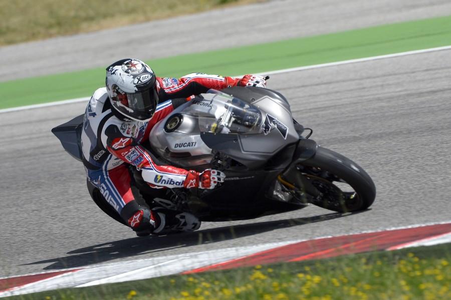 Carlos Checa Ducati Panigale