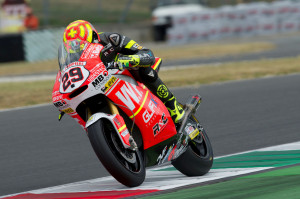Andrea Iannone durante el Gran Premio de Italia