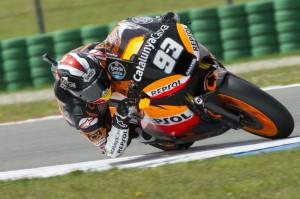 Marc Márquez durante el pasado Gran Premio de Holanda de Moto2