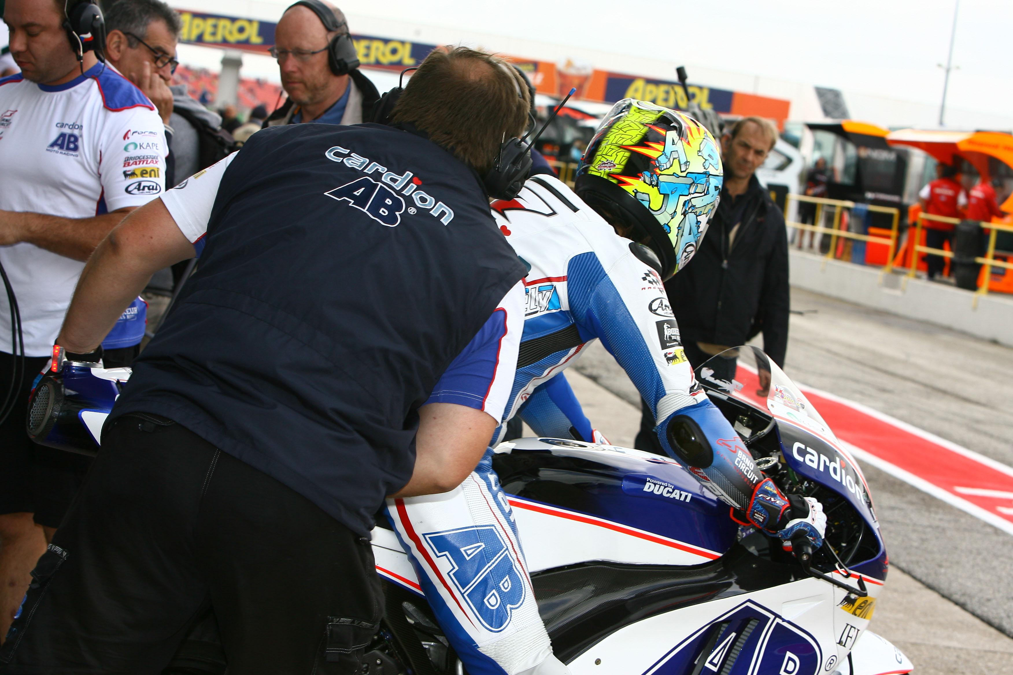 Karel Abraham, AB Cardion, Moto GP, Misano, September 2012