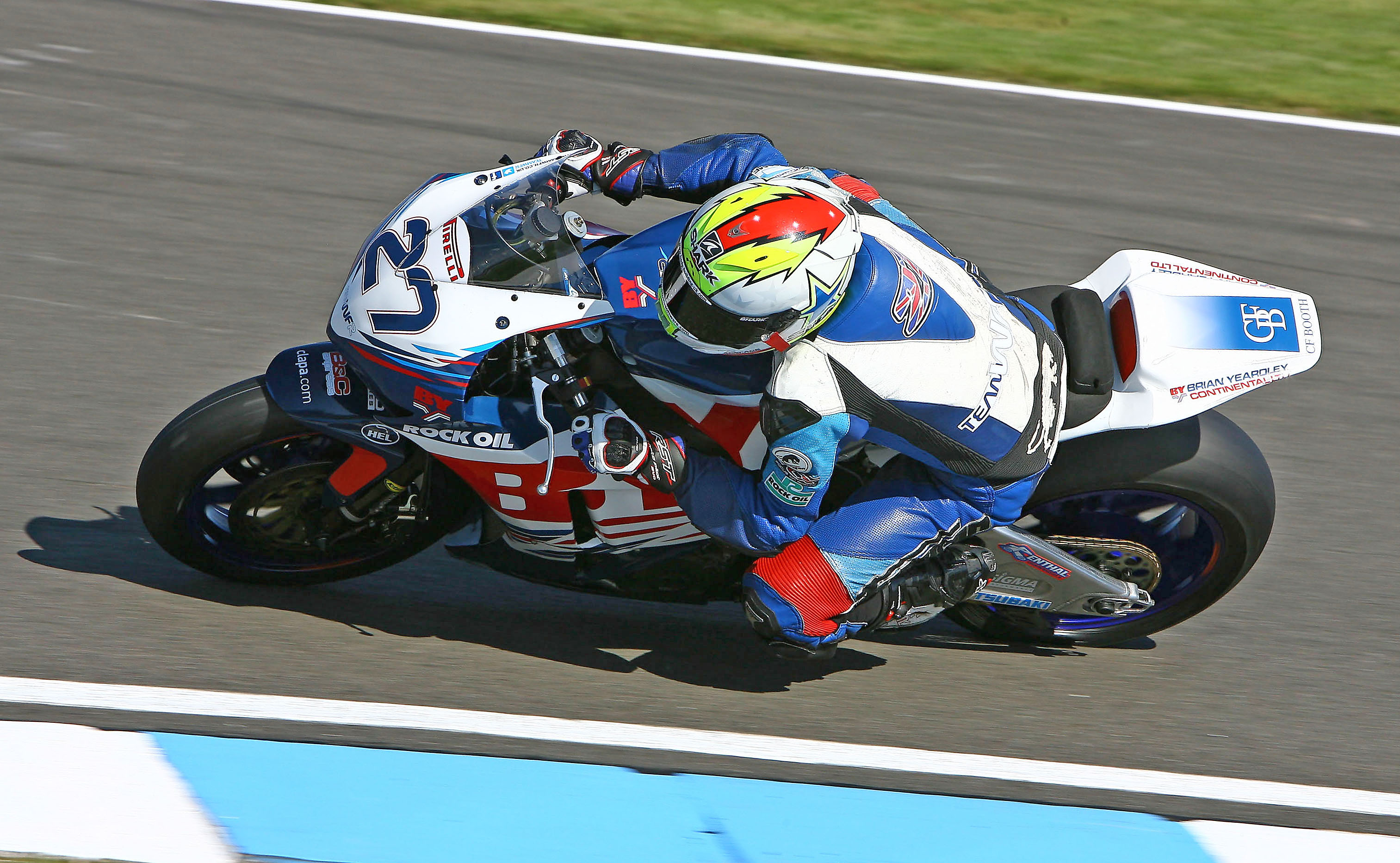 James Westmoreland, Team WFR, Donington Park, September 2012