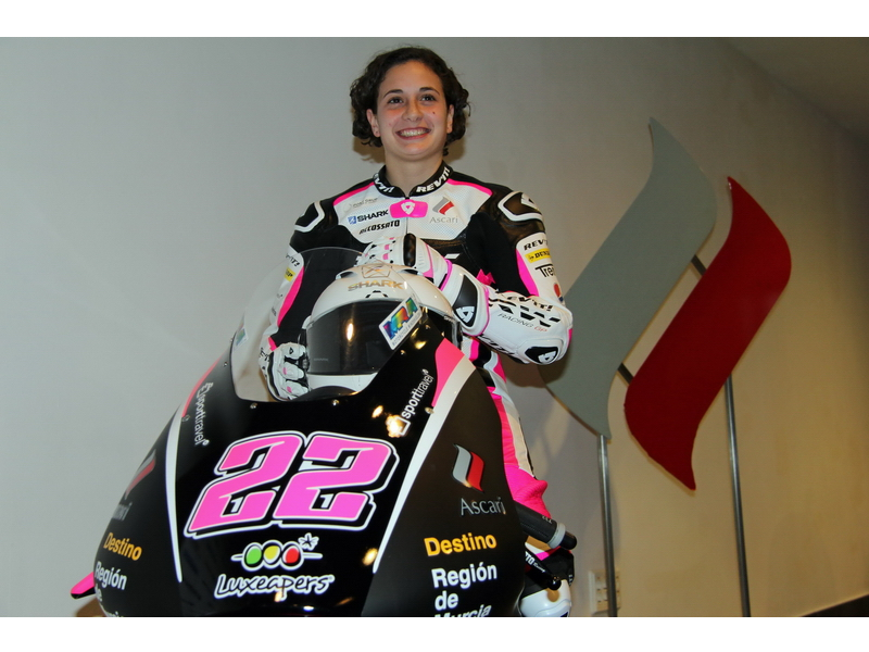 Presentación Ana Carrasco RW Racing Gp