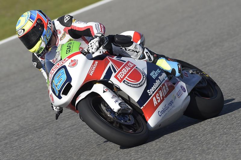 Test IRTA Jerez Moto2 Moto3