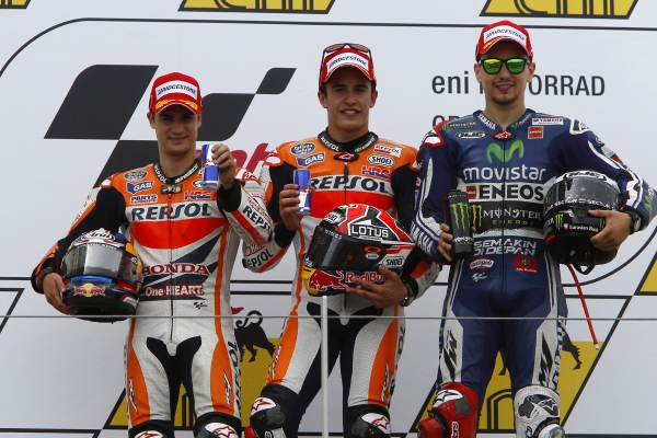 Podium-Alemania