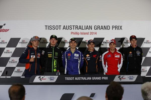 Rueda de Prensa del Gran Premio de Australia