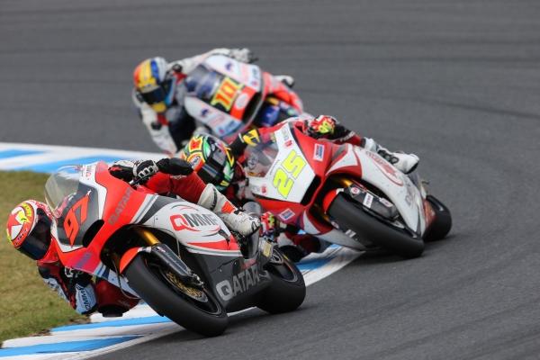 Román Ramos durante el Gran Premio de Japón