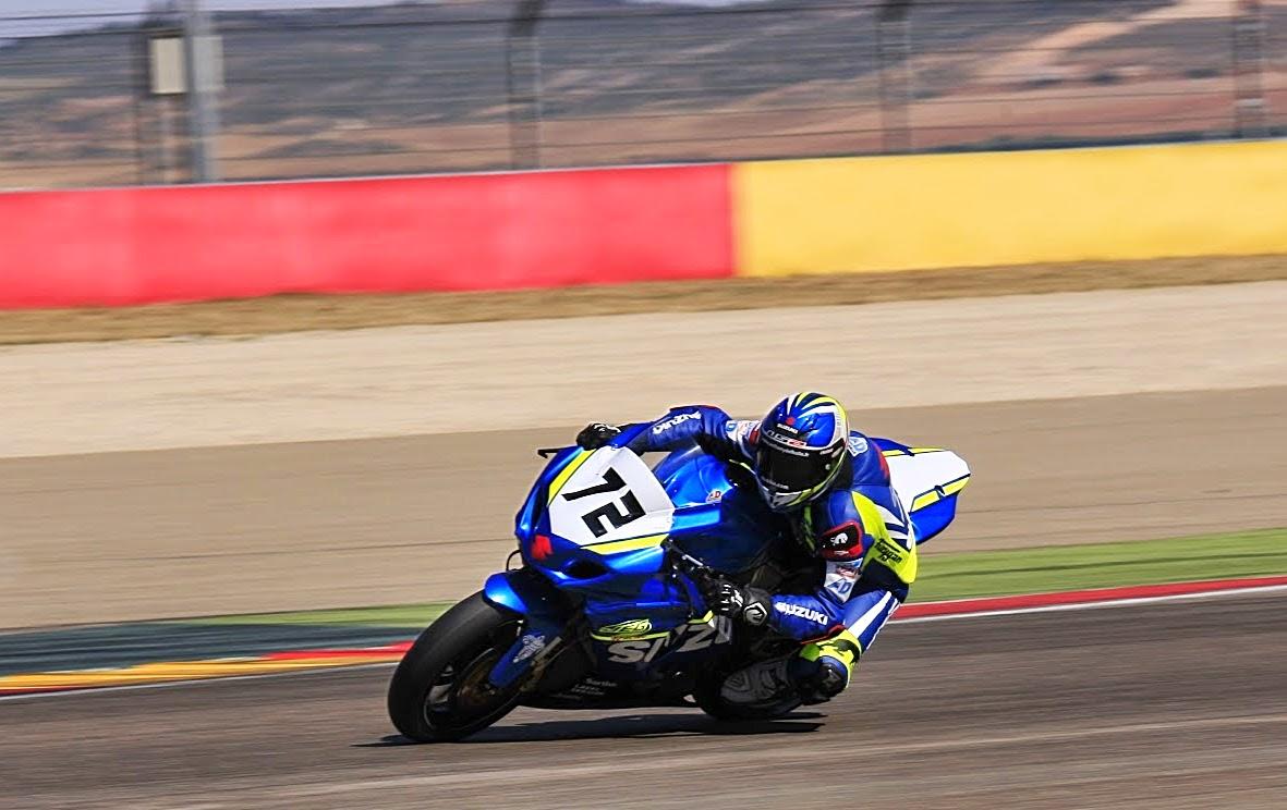 Anthony Delhalle en Motorland Aragón