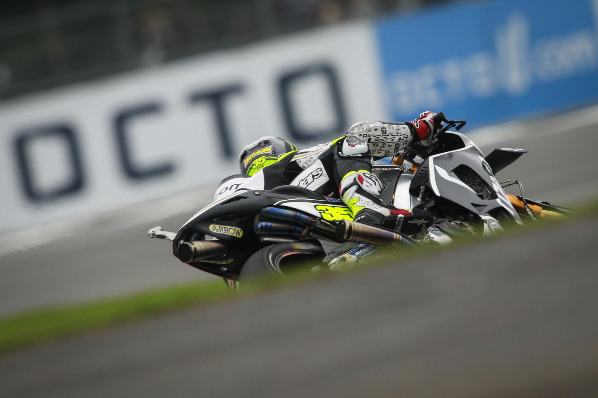 Cal Crutchlow, autor de la pole position del Gran Premio de Gran Bretaña de MotoGp