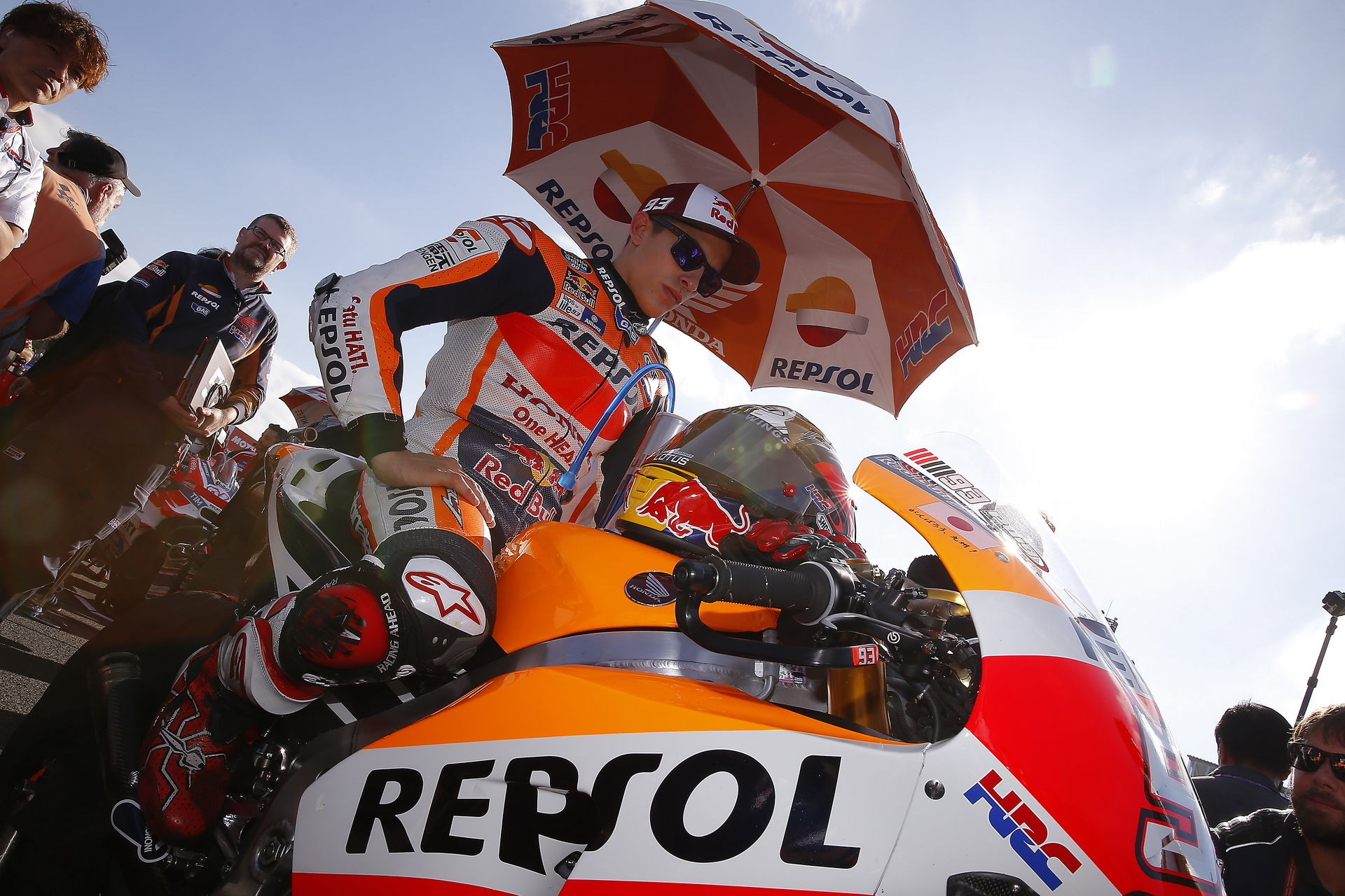 Entrevista Marc Márquez, Campeón del Mundo de MotoGp 2016