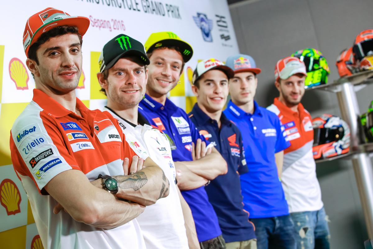 Rueda de Prensa Gran Premio de Malasia MotoGp