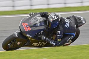 Pecco Bagnaia Test Moto2 Valencia