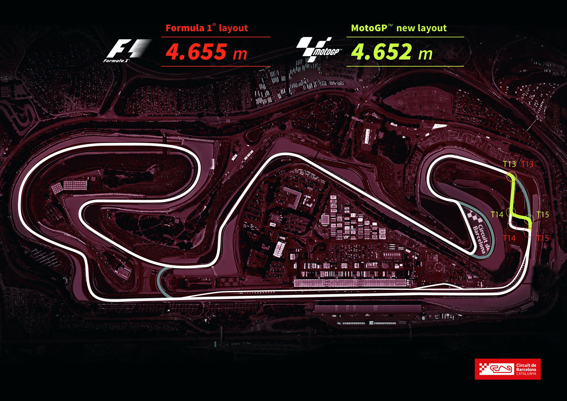 Circuit de Catalunya, Modificación MotoGp
