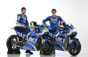 Team Suzuki MotoGP 2017 Iannone Rins GSX-RR-006