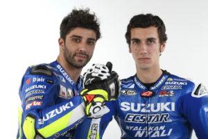 Team Suzuki MotoGP 2017 Riders Iannone and Rins-001