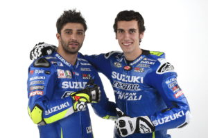 Team Suzuki MotoGP 2017 Riders Iannone and Rins-003