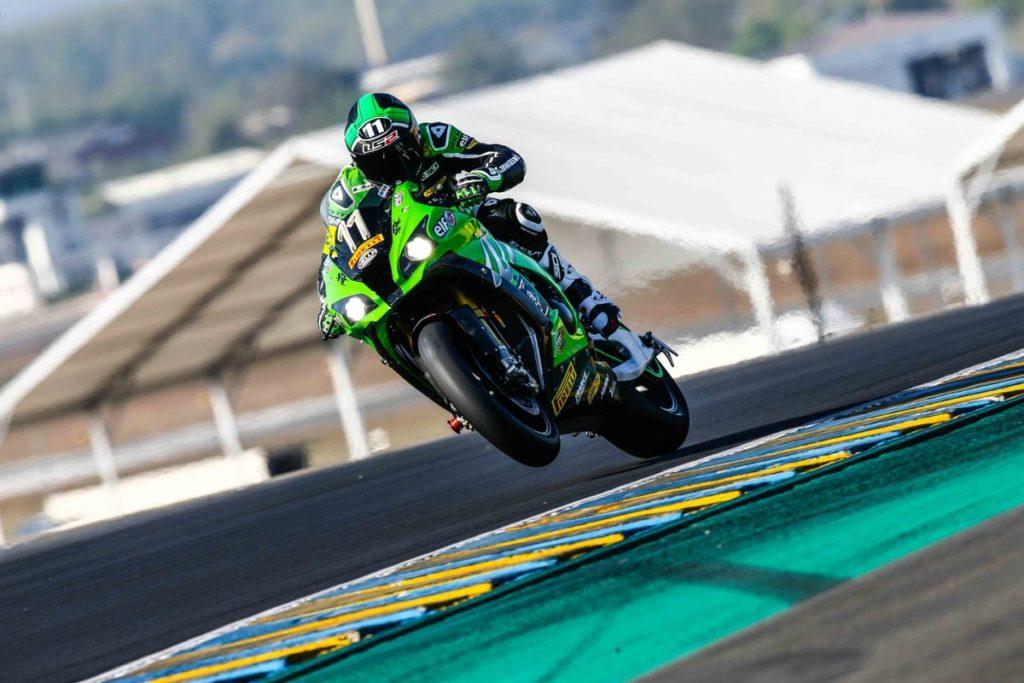 Randy de Puniet. Kawasaki SRC 24 Horas de Le Mans 2017
