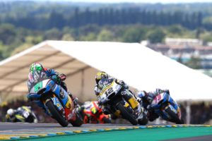 Franco Morbidelli vence en Le Mans