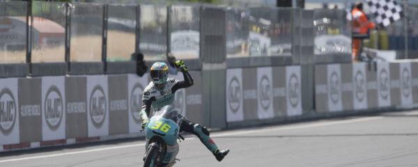Joan Mir gana en Le Mans