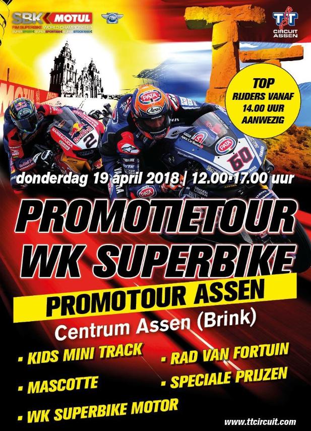Horarios del Campeonato del Mundo de Superbike en Assen, Holanda
