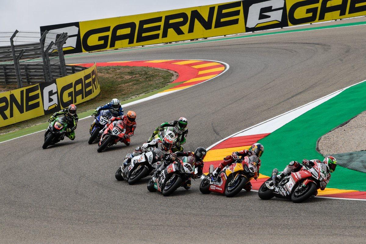 Primera carrera del Mundial de Superbike en Motorland Aragón